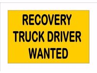 Hiring now: Vehicle Recovery Operatives (VRO's) with 7.5 ton or Class 2 licence