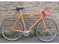 Vintage Custom Built Road Fixie Bike Condor 57cm High Spec Very Light