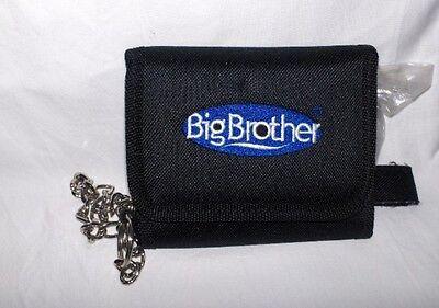 Big Brother- Geldbörse mit Kette, schwarz-