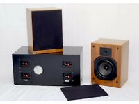 JPW bookshelf speakers and sub-woofer