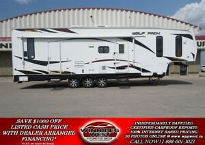 2011 Forest River CHEROKEE WOLF PACK 306WP 36FT TOY HAULER, 2 SL
