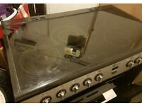 Used Flavel double electric range cooker