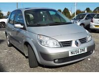 1.6L Renault Scenic with 1 Years MOT