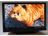 "43"" Pioneer Pure Kuro full HD freeview built in"
