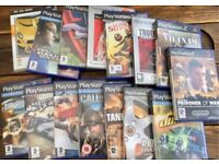 Ps2 pc console games Needs for speed call of duty soccer etc