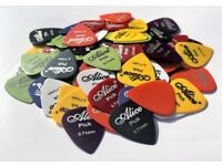100 Alice Guitar Picks Plectrum - 0.71mm perfect for Electric & Acoustic