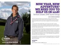 Scout Leader needed urgently!