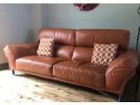 BARGAIN DUE TO IMMINENT HOUSE MOVE, SOFAS AND FOOTSTOOL