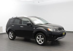 2007 Mitsubishi Outlander XLS 4WD | LEATHER 7PASSENGER CERTIFIED
