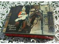 Vintage Cadburys Biscuit Tin - 'Changing the Guard'.