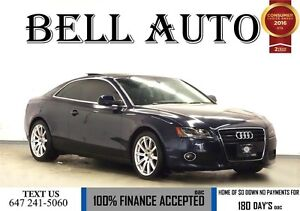 2010 Audi A5 2.0T PREMIUM  - PACKAGE PANORAMIC ROOF- LEATHER IN