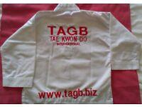 Child's Tae Kwon-Do suit (dobok) size 0/130