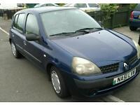 2001 Renault Clio 1.1 5drs manual £390