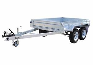 8x5 Box Trailer, Dual Axle - Heavy Duty Galvanised 2000kg ATM Glenorchy Glenorchy Area Preview