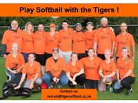 New players wanted: Try a new and social sport, FREE Softball sessions