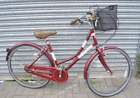 """Ladies 3 speed Bicycle. Modern in retro style. 17"""""""