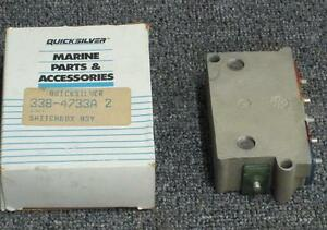 Mercury switch box assy 2 cyl. 1972-81  20 - 40 hp # 338 4733