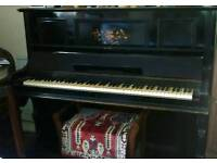 Classic style piano and stool