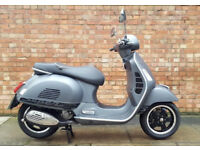 Vespa GTS 125cc (66 REG) gun metal, As new condition with only 50 miles!