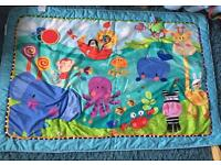 Fisher price large playmat with toys
