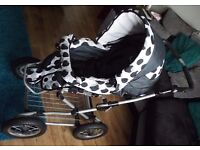 Babystyle Lux 3 in 1 Combination Pram