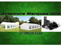 Marquee Hire 12 meter by 6 meter, set up and delivered north of Perth.