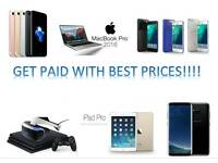 GET PAID FOR YOUR Iphone 7 plus 6s PLUS, Samsung S8, S8+, S7, S6 EDGE, Macbook Pro,Ipad Pro, Ps4 pro