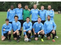 JOIN 11 ASIDE FOOTBALL TEAM IN LONDON, FIND SATURDAY FOOTBALL TEAM, JOIN SUNDAY FOOTBALL TEAM kn23