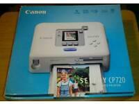 Canon Selphy CP720 Compact Photo Printer