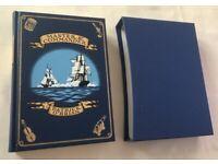 Folio Society Hard back book with sleeve 'Master and Commander' Patrick O'Brian