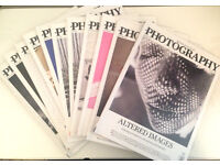 Ten back issues of The British Journal of Photography magazine from 2015