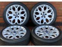 """Ford Focus 17"""" Titanium Genuine Alloy wheels 5x108"""
