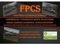 FAIR PRICE CLEARANCE SERVICES. (Garden Waste, Rubbish, Rubble, Scrap Metal, Wood, Vehicles and More)
