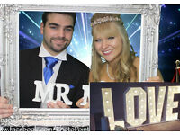 Photo Booth Hire, 2017 OFFER, Four Hours for the Price of Three, free Green Screen & Guest Book