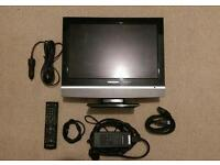12v LCD caravan camper van TV with Freeview