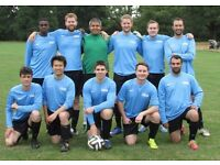 NEW TO LONDON? PLAYERS WANTED FOR FOOTBALL TEAM. FIND A SOCCER TEAM IN LONDON. PLAY IN LONDON pl45