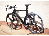 Time trial bike as new