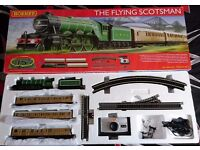 Hornby flying Scotsman train set R1167 00 gauge