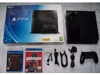Ps4 Playstation 4 500gb boxed with controller and games!!!