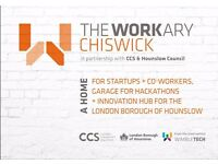 From only £65p/m - The Workary - Chiswick. Escape the coffee shop and join our amazing co-working!