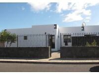 Villa holiday rental Playa Blanca Lanzarote