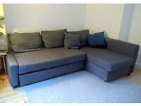 IKEA Friheten L shaped sofa bed