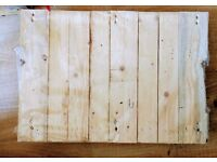 small size pallet great size for coffee table 47cm x 67cm pick up hackney