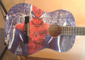 SPIDERMAN AMAZING CHILDRENS 3/4 SIZE CLASSICAL GUITAR