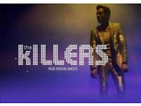 The Killers tickets Swansea 2 x Standing Tickets