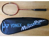 Yonex Muscle Power 100 Badminton Racket with original carry bag