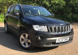 Jeep Compass Sport+ MOT March 2019