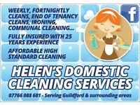Helens cleaning services