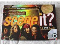 Scene it DVD/Board game Pirate of the Caribbean