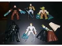 Bundle of star wars figures